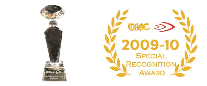 2010 Special recognition award
